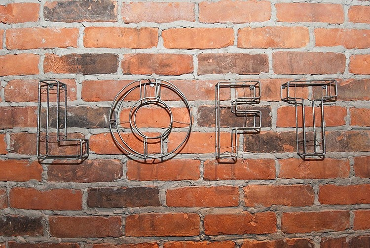 Loft industrial con aires maculinos