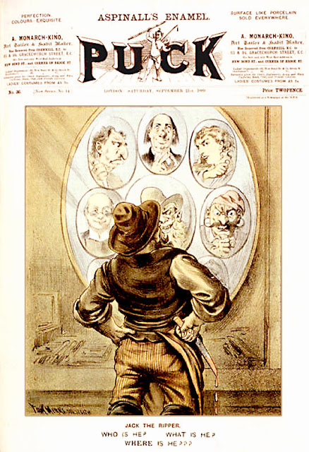 Puck (21 de septiembre de 1889) Jack El Destripador / Jack The Ripper