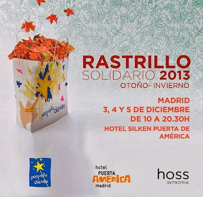 Rastrillo Solidario Hoss Intropia 2013