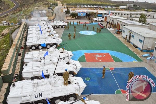 Komandan Sektor Timur UNIFIL tinjau area Indobatt