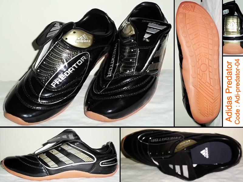 free zone sepatu futsal murah adidas predator hitam gold