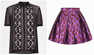 Blusa y falda para noche vieja