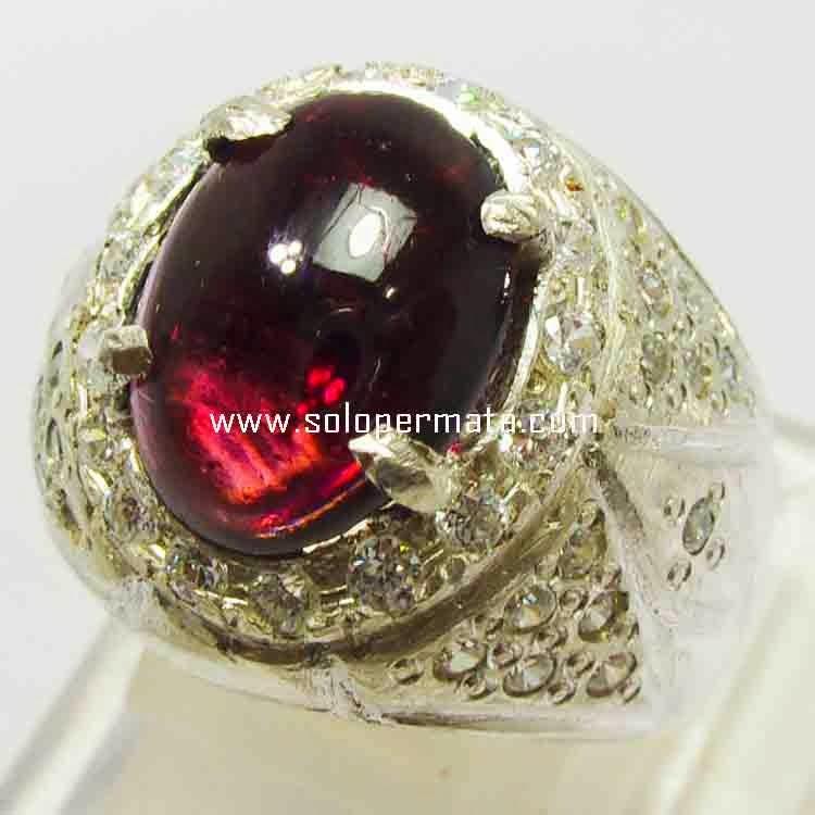 Batu Permata Rodholite Garnet- 21B09