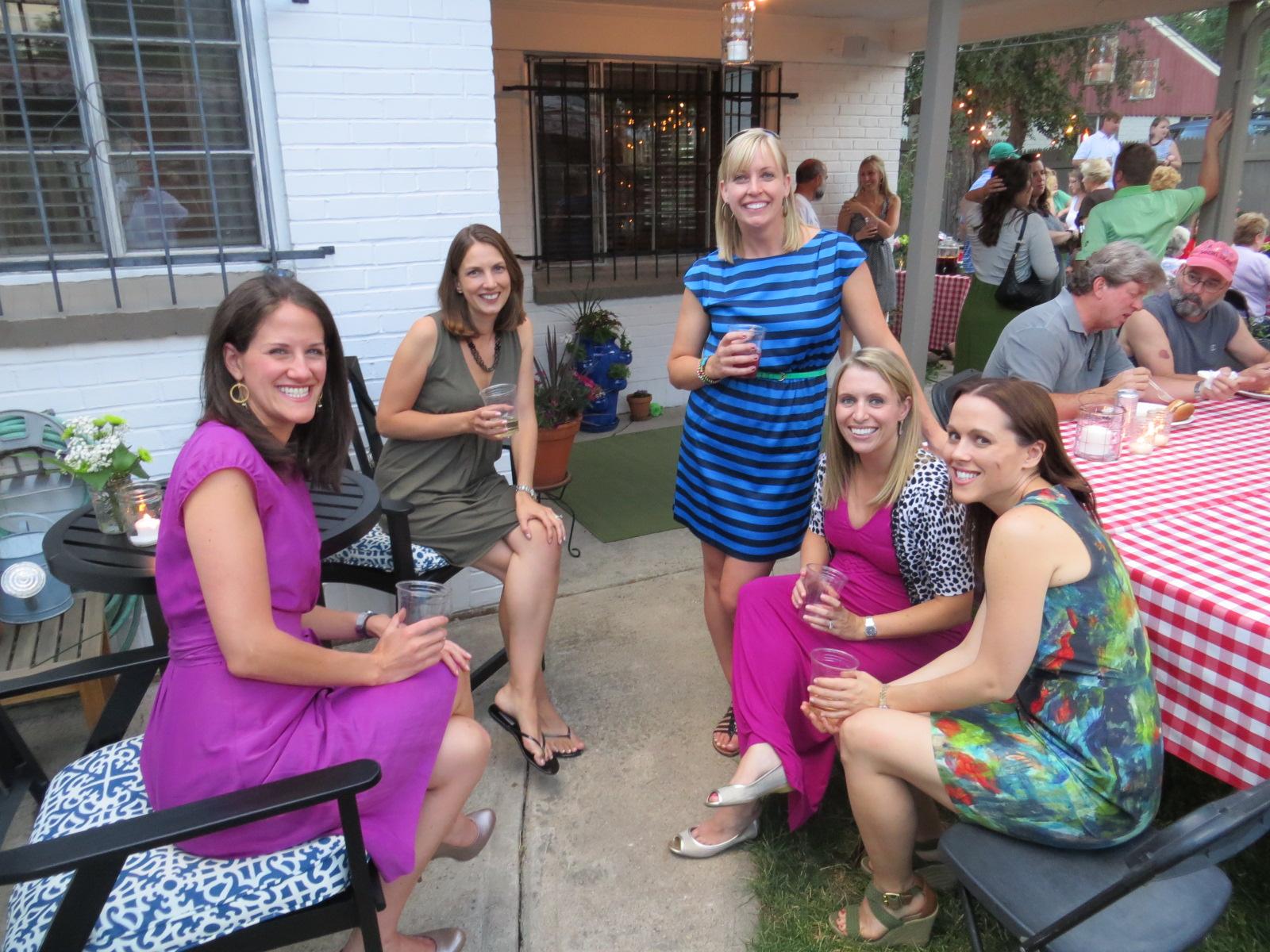 Big Brother Backyard Bbq : Life and Times of the Naughtins (Kim and Jason) June 2012