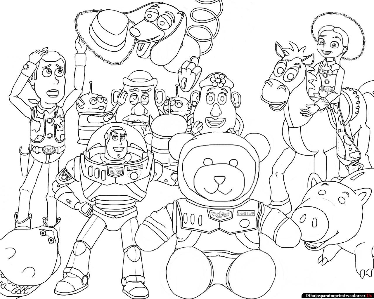 dibujos de toy story para imprimir y colorear MEMES Pictures