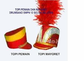 TOPI MAYORET DAN PEMAIN DRUMBAND