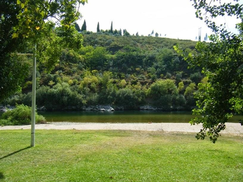 Rio Zêzere em Constância