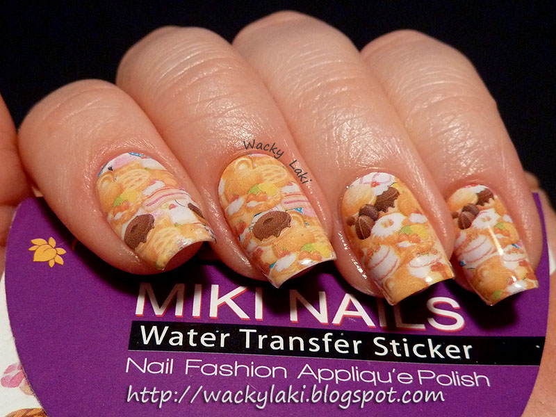 Wacky Laki: Born Pretty Store Miki Nails Water Transfer Decals Review...