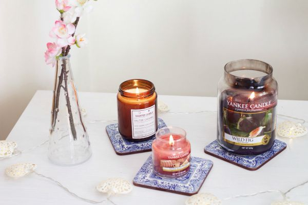 3 Autumnal Candles
