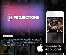 Entertainment App of the Week – ProjectionsIO