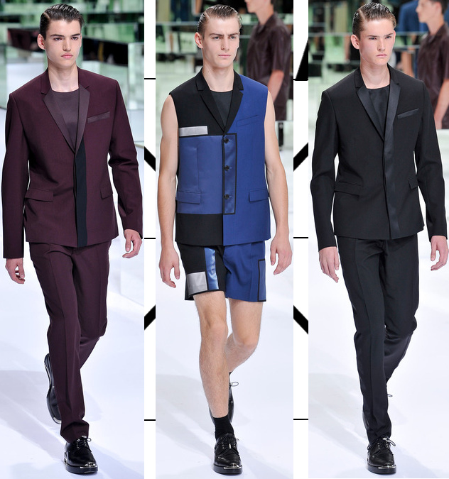 dior homme mens spring 2014 suits