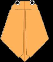 Cara Membuat Origami Jangkrik