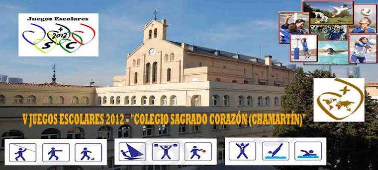 Juegos Escolares 2012 Sagrado Corazón Chamartín