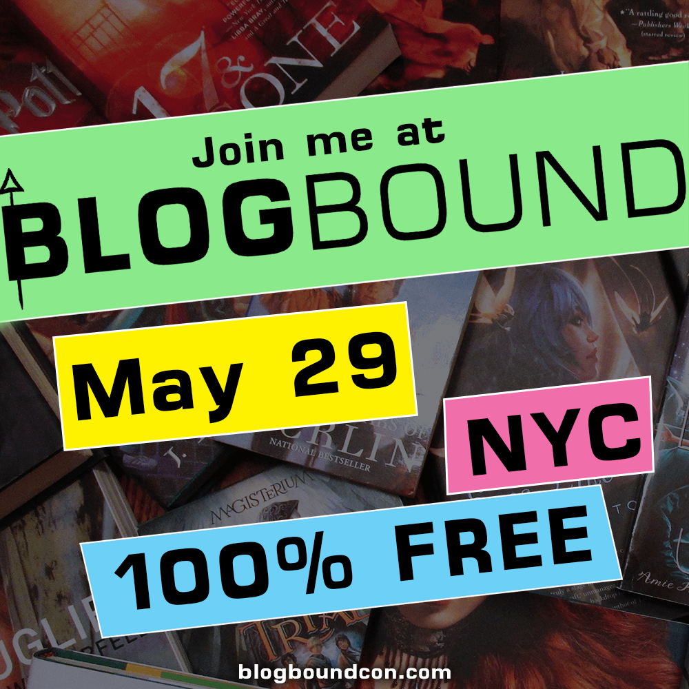 Check out my panel at Blogbound!