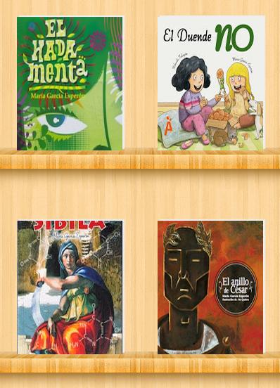 Libros María García Esperón. Reseñas.Editoriales. Dónde conseguirlos