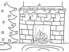 Blank Holiday Coloring Pages