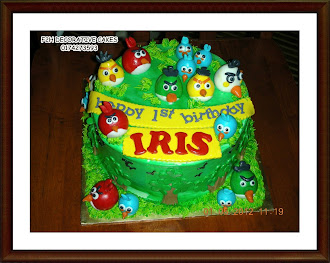 3D Angry Bird Cakes