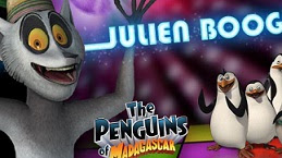 King Julien Boogie Games