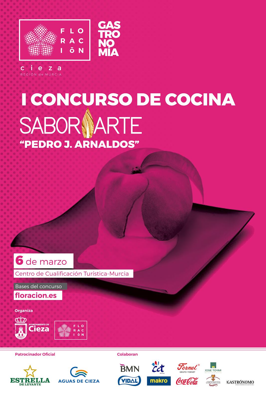 """Saborarte convoca el I Concurso de Cocina SaborArte """"Pedro J. Arnaldos"""""""