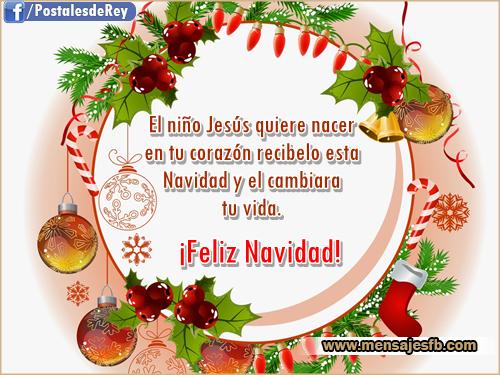 Dedicatorias con frases para navidad mensajes para amor - Postales navidenas bonitas ...