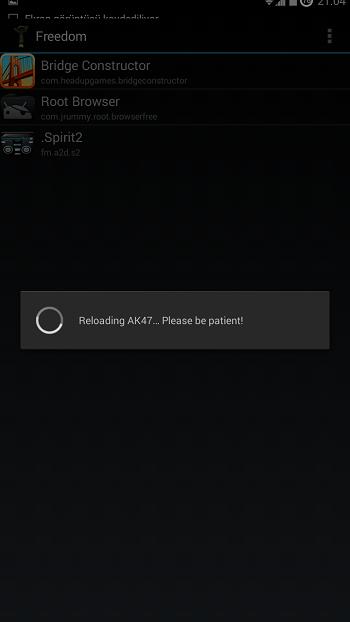 Android Freedom Ücretsiz Uygulama ve Oyun Satın Alma Apk resimi 1