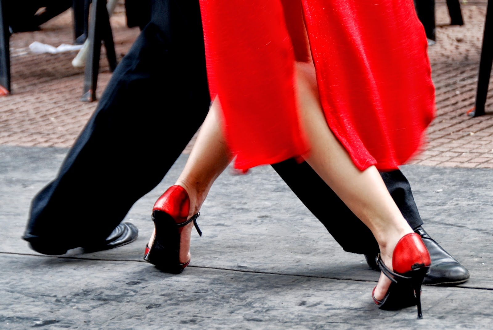 Tango Dance in Streets HD Photos