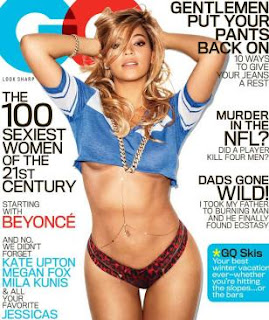 Beyonce Knowles magazine GQ