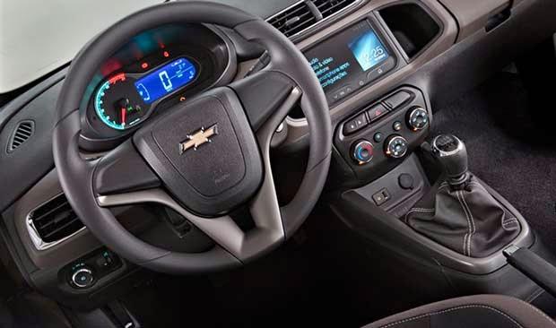 Interior Novo Chevrolet Prisma fotos
