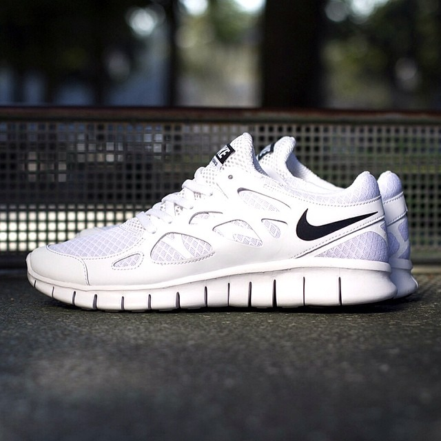 Nike Free Run 2 Nsw Papier Peint Noir Et Blanc