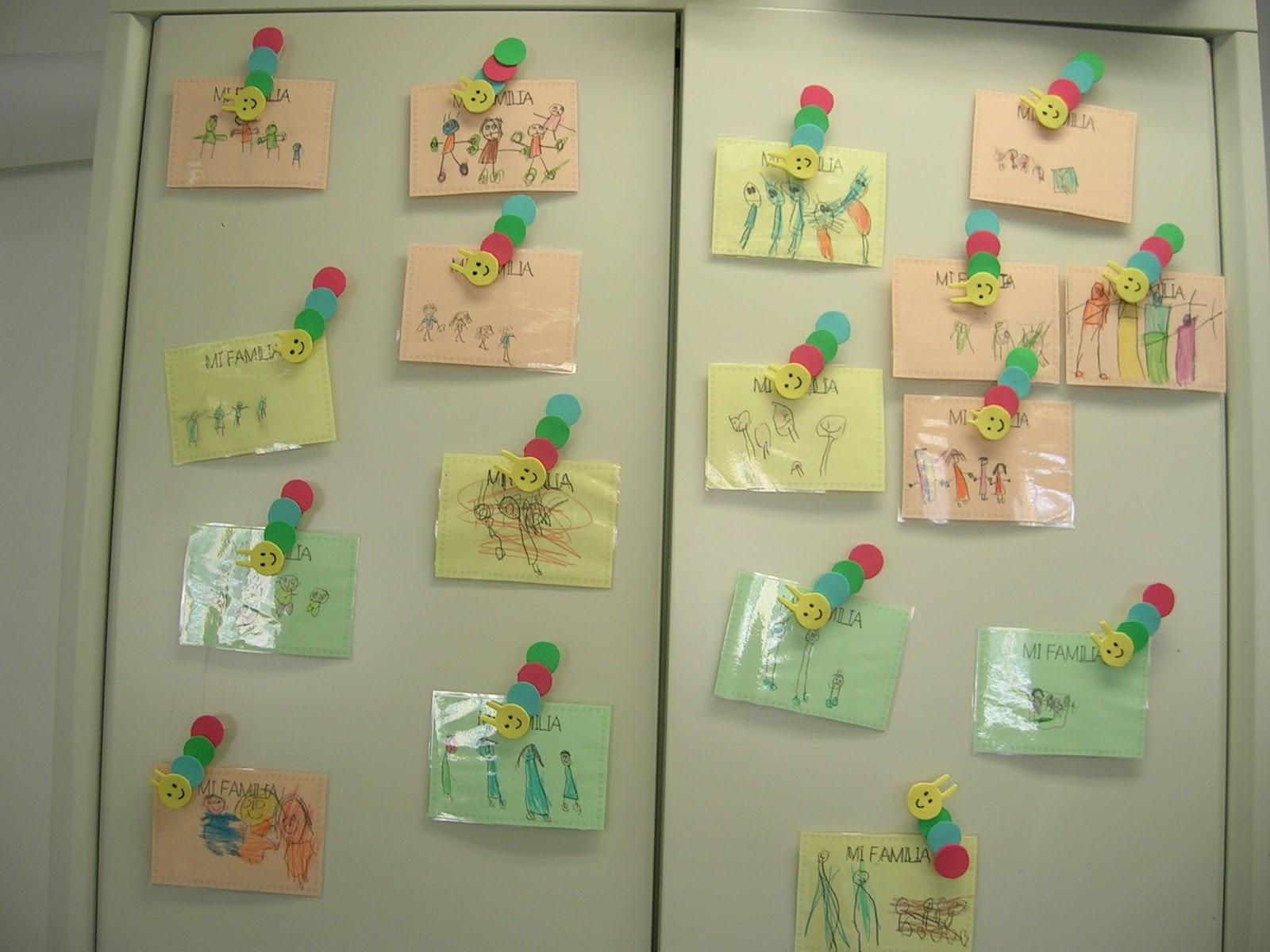 Trabajando en educaci n infantil regalo para el d a de la - Manualidades en familia ...