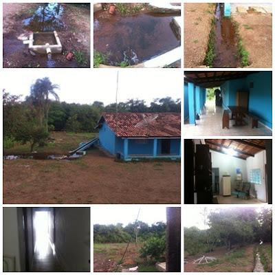 Chácara de 1 Alqueire e 27 Litros a 70 Km de Goiânia sendo 20 Km de chão - em Leopodo de bulhões Goiás
