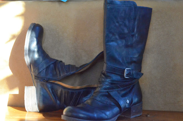comfortable leather boot