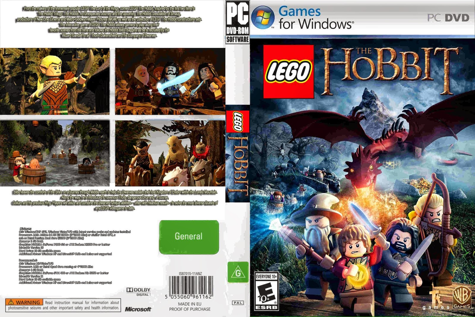 Download image lego the hobbit capa pc game pc android iphone and