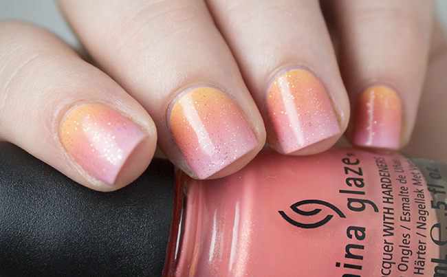 Sunset Gradient Nail Art | The Nailasaurus