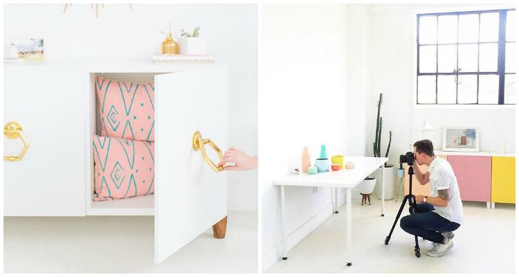 Como almacenar el atrezzo de decoración y fotografía by Habitan2