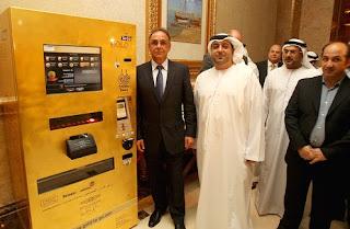 Gold Bar ATM Machine