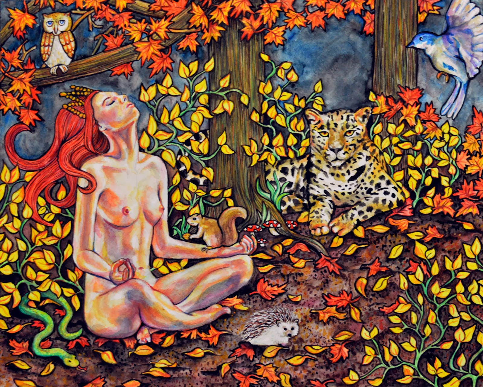 https://www.etsy.com/listing/177821069/original-figurative-autumn-forest