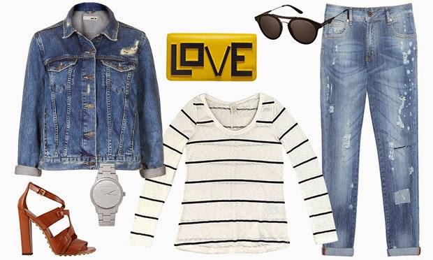 Como montar looks modernos usando jaqueta jeans