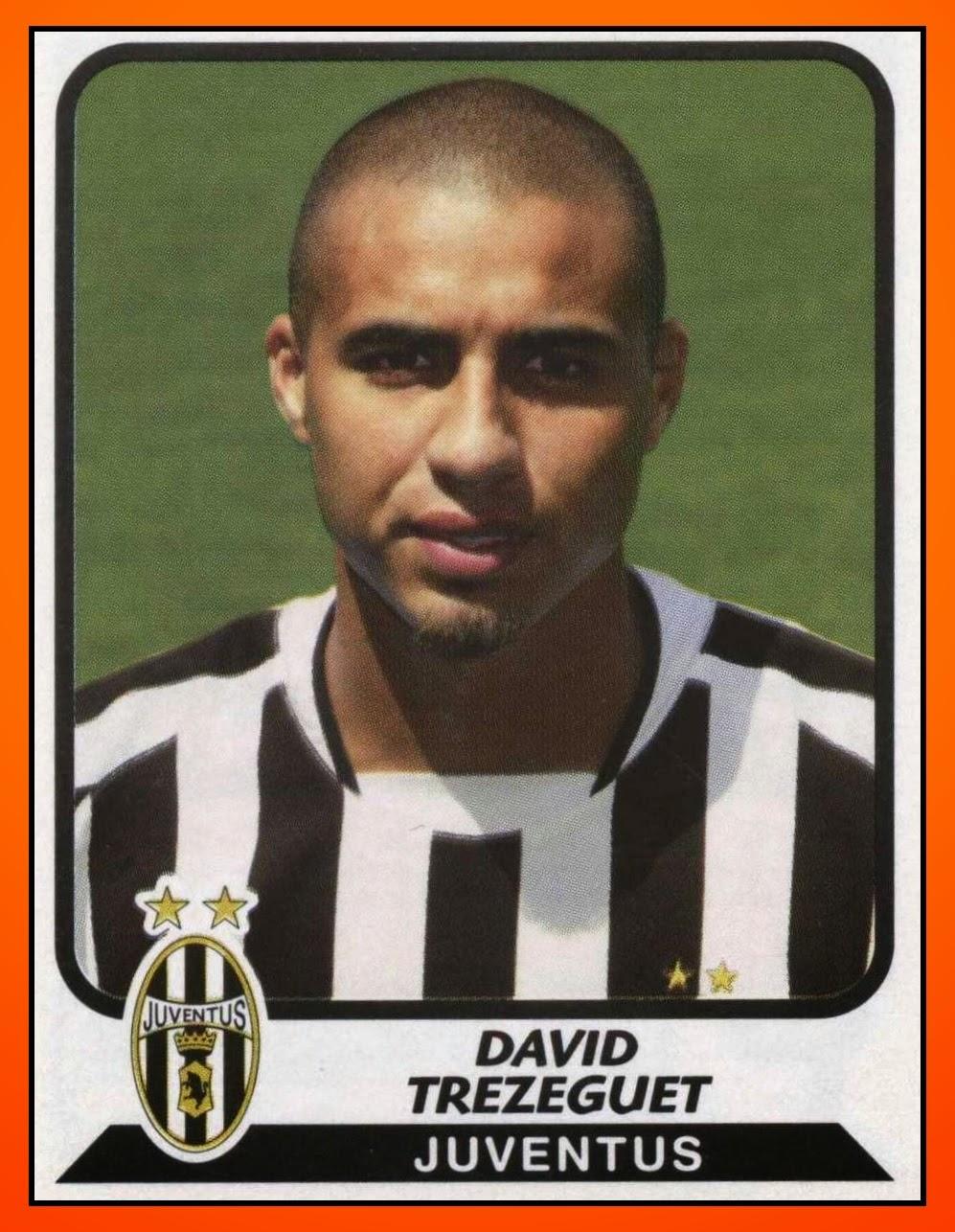 Old school panini david trezeguet top 10 goals with juve for David trezeguet