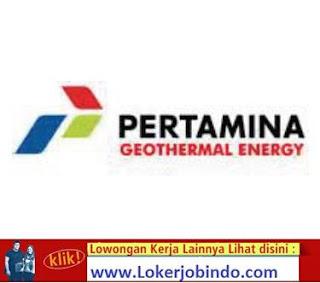 Lowongan Kerja Pertamina Geothermal Energy