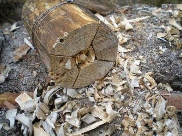 Как сделать дровяной примус в походе