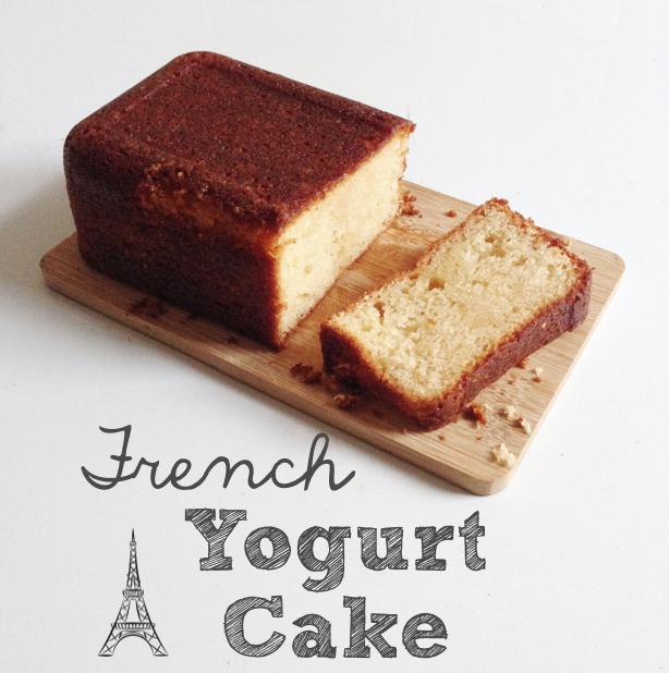 The Moon Mom: Gâteau au yaourt - a French yogurt cake / Gâteau au ...