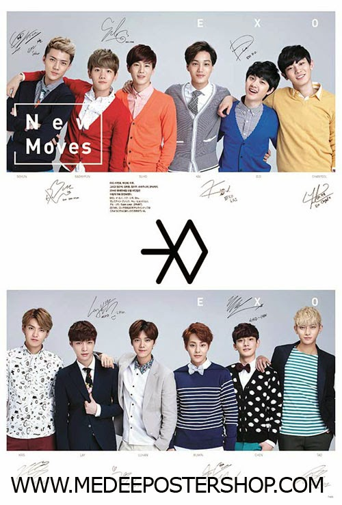 EXO New Move Poster 2014