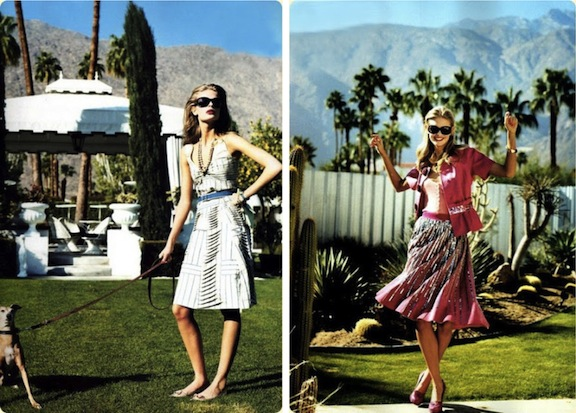 Arthur Elgort-Palm Springs-Fashion Editorial