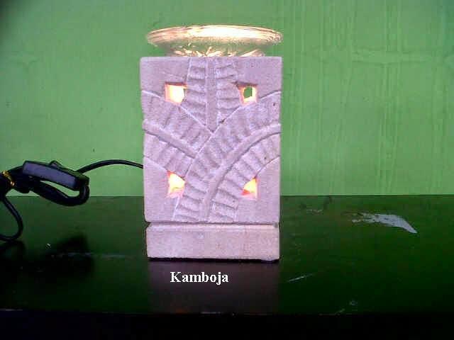 Electric oil burner aroma diffuser light decoration lamp