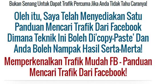 Panduan dan teknik mendapatkan ribuan trafik percuma dari Facebook