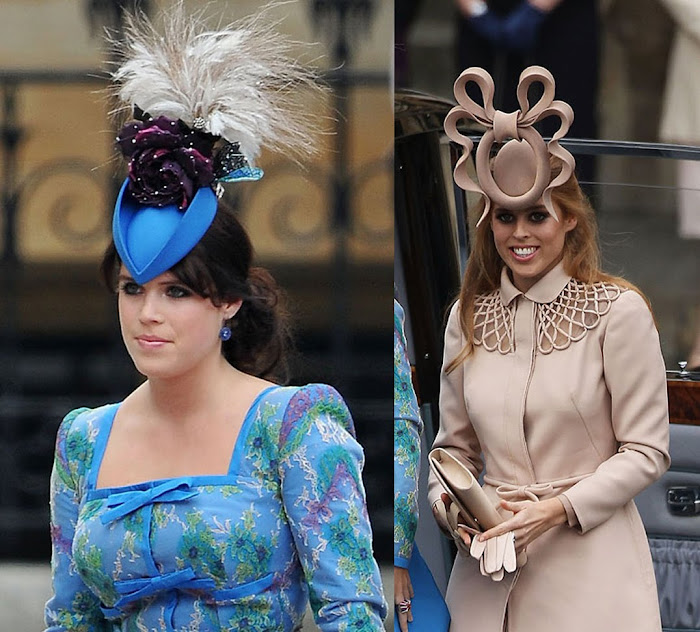 Beatrice And Eugenie Hats | newhairstylesformen2014.com