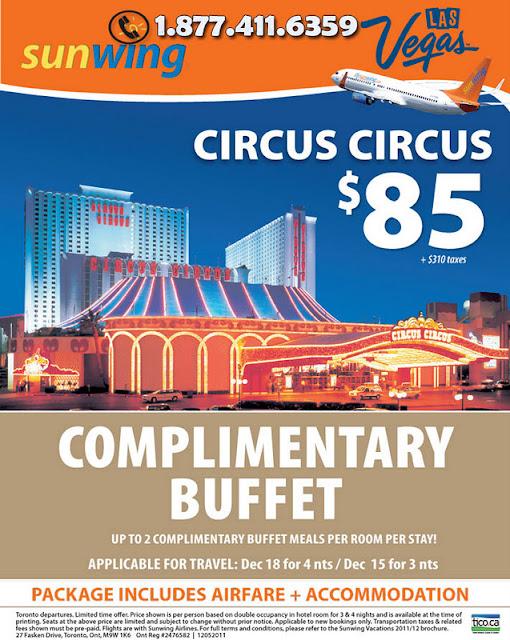 circus circus las vegas buffet price