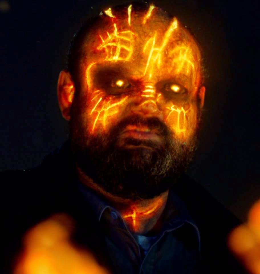 Victor McCay as the security guard possessed by Furcifer demon in NBC Constantine Season 1 Pilot Episode Non Est Asylum