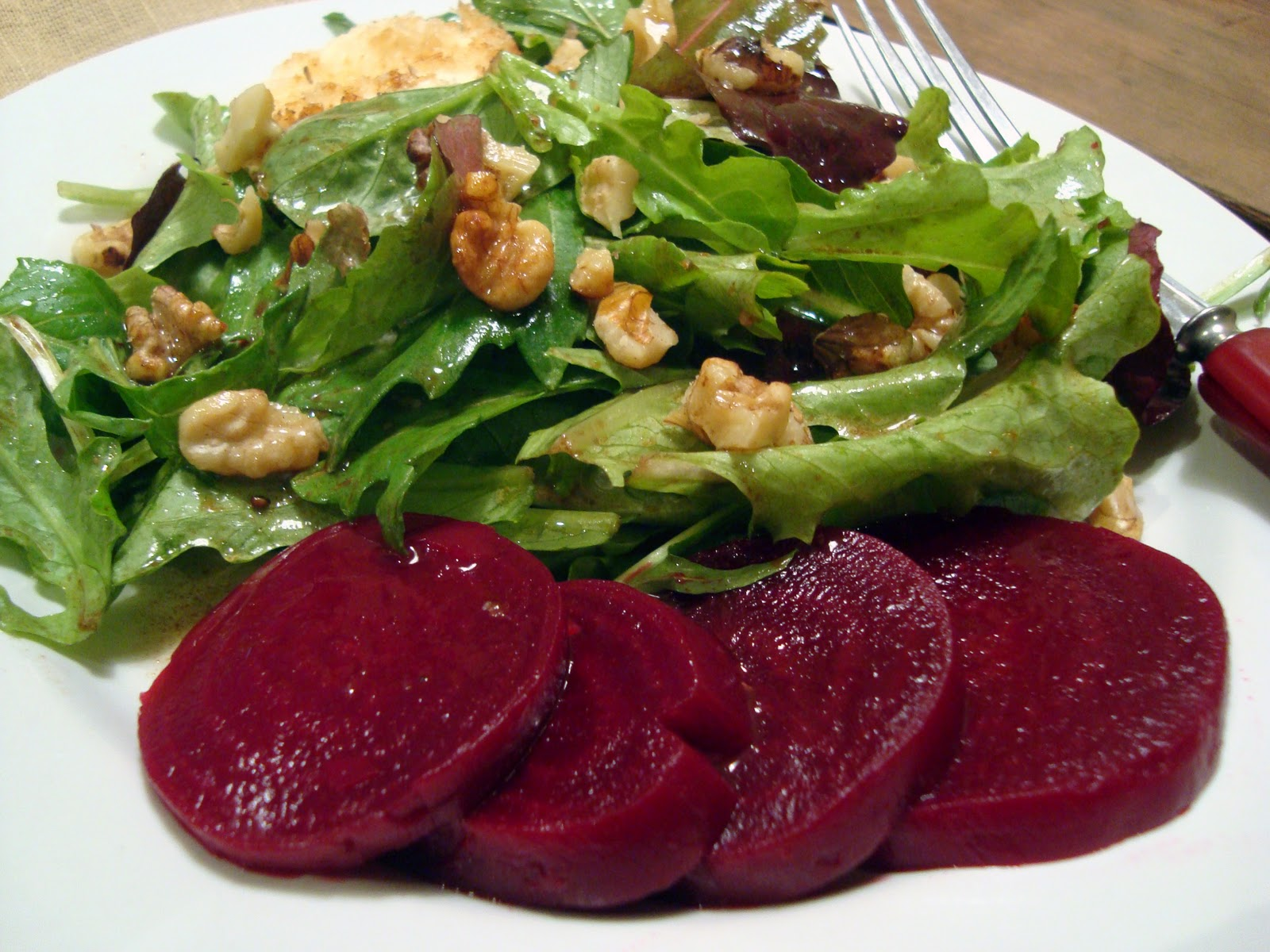 Headspace: Pickled Beets and a Simple Salad